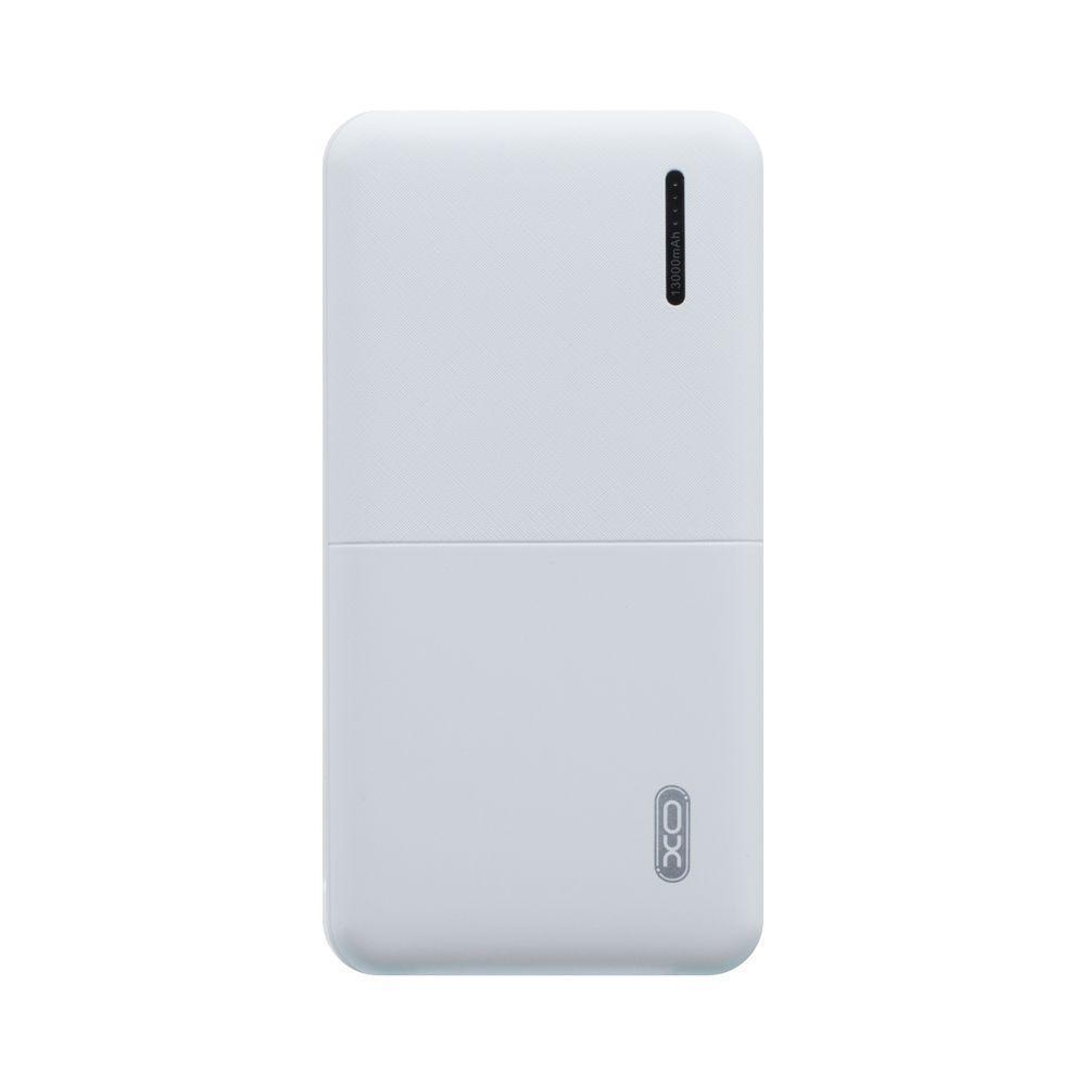 Портативная батарея Power Bank XO PB70 LED индикатор 13000 mAh Белый