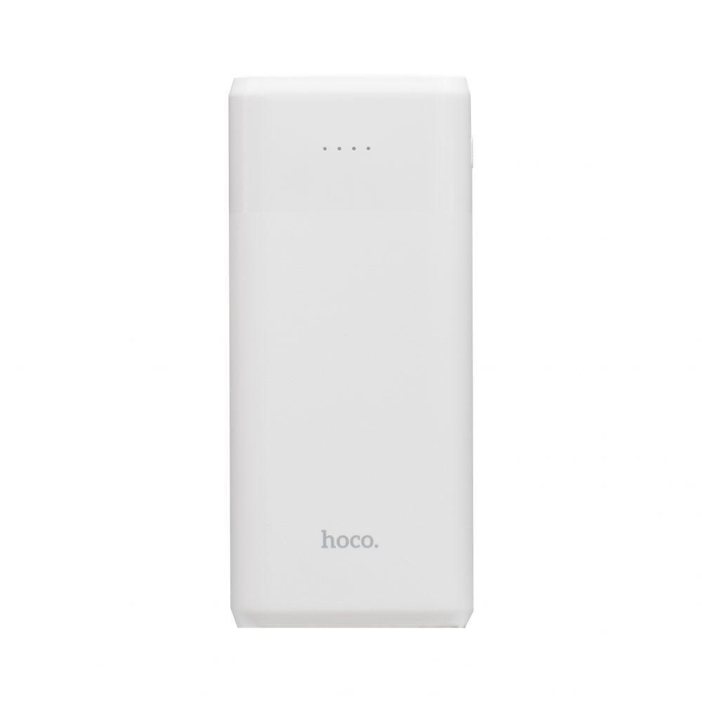 Портативная батарея Power Bank Hoco J61 LED индикатор 10000 mAh Белый