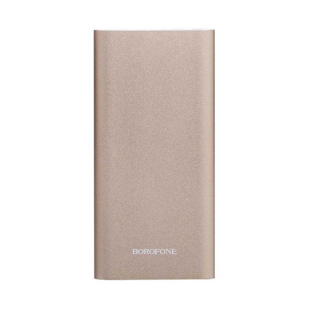 Портативна батарея Power Bank Borofone BT19A LED індикатор 15000 mAh Золотий