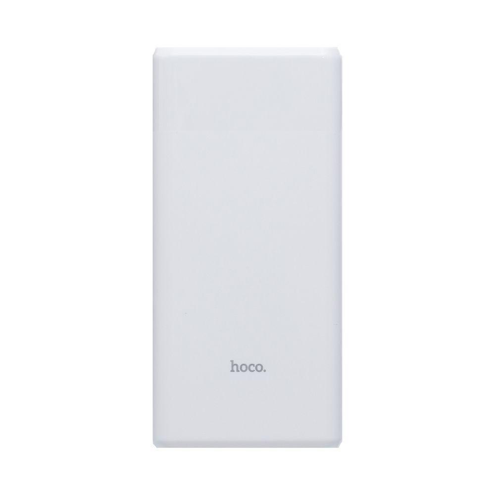 Портативная батарея Power Bank Hoco B35C LED дисплей 12000 mAh Белый