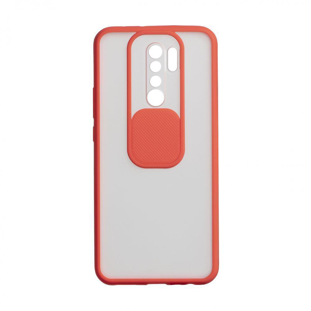 Чехол Totu Curtain для Xiaomi Redmi 9 Красный