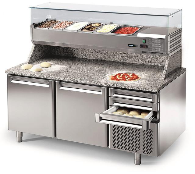 Столы для пиццы холодильные