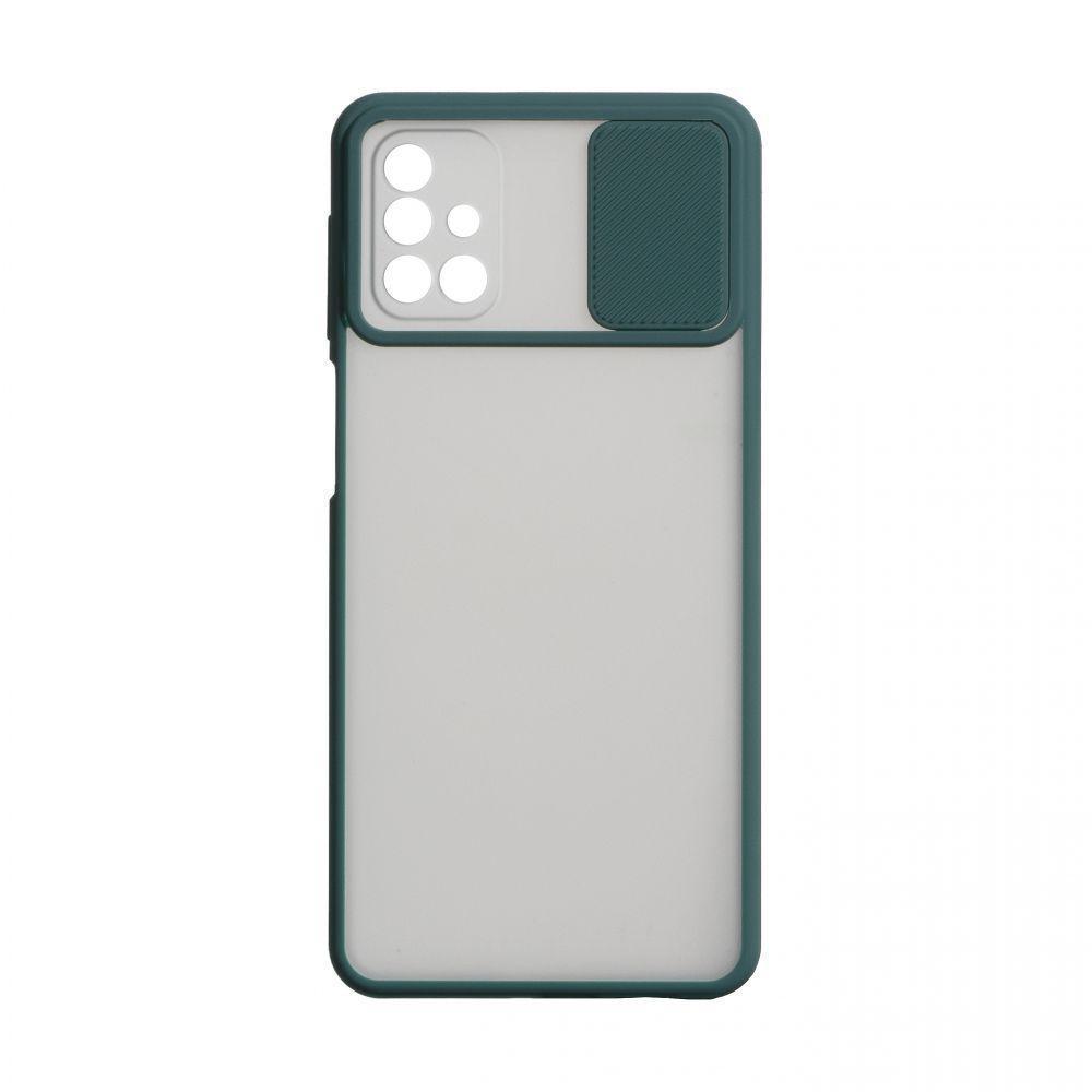Чехол Totu Curtain для Samsung Galaxy M31s SM-M317 Зелёный
