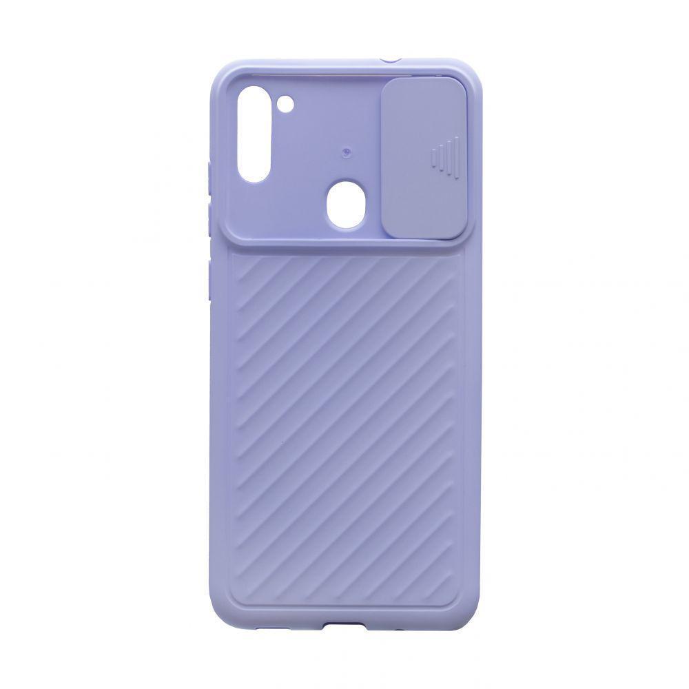 Чохол Anchor Сurtain Color для Samsung Galaxy A11 SM-A115 Бузковий