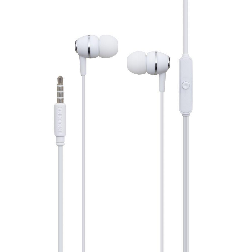 Вакуумные наушники Borofone BM36 Acura гарнитура для телефона Белый