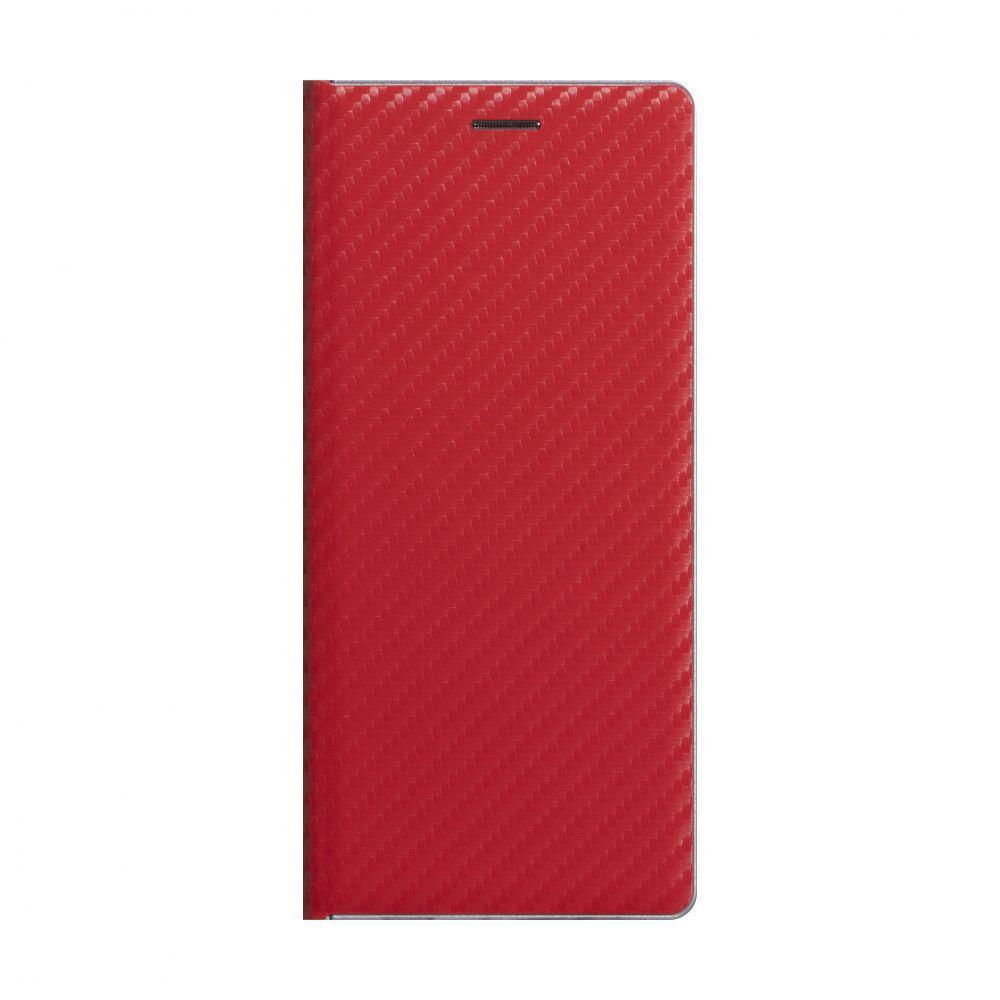 Чехол-книжка Anchor Carbon для Samsung Galaxy M31s SM-M317 Красный
