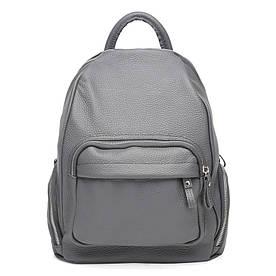 Женский кожаный рюкзак Ricco Grande 1L976-grey