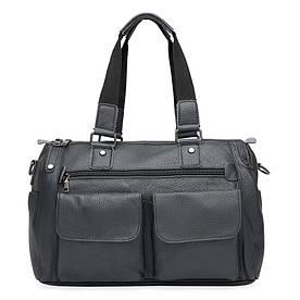 Чоловіча шкіряна сумка Keizer K11026-black