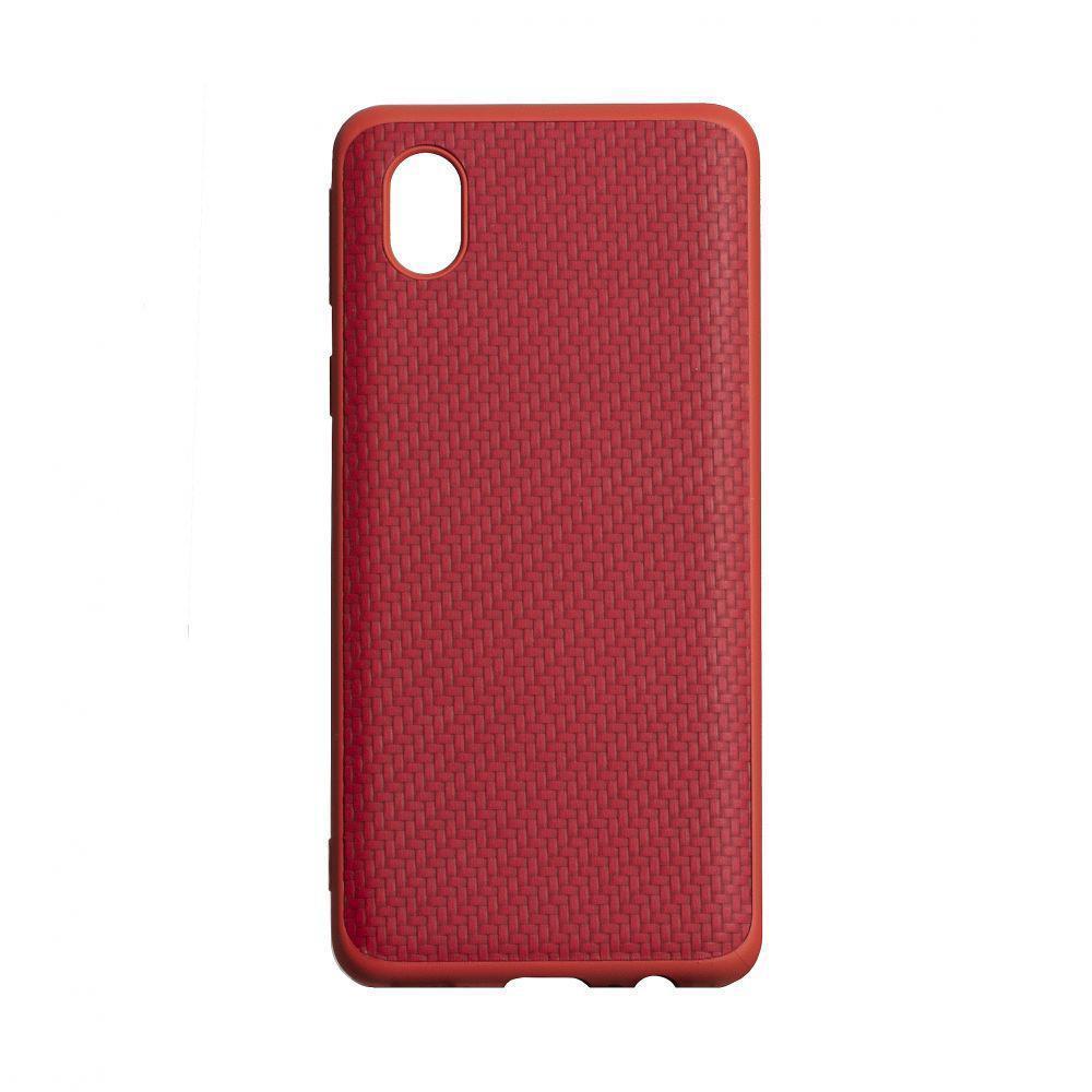 Чохол Anchor Carbon HQ для Samsung Galaxy A01 Core SM-A013 Червоний