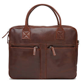 Чоловіча шкіряна сумка Ricco Grande 1FSL-1052-brown