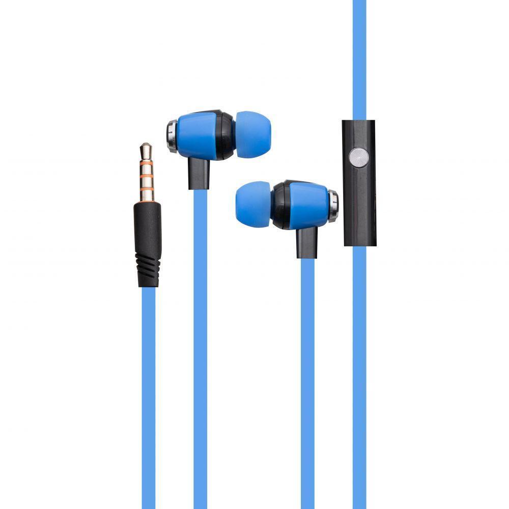 Вакуумные наушники Celebrat S30 гарнитура для телефона Голубой