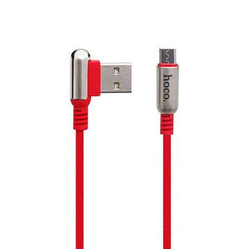 Кабель USB Hoco U17 Capsule USB - Micro USB Красный