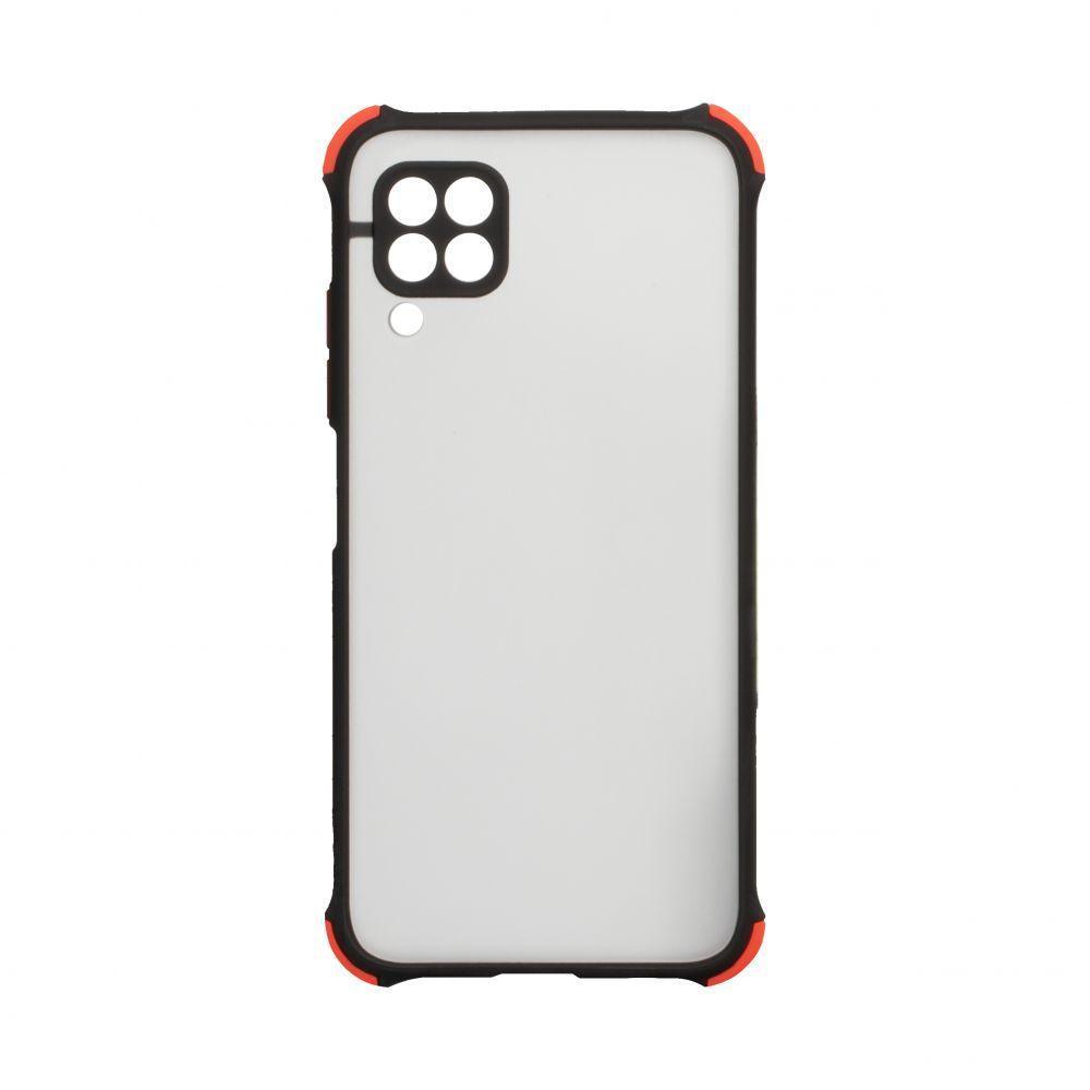 Чехол Totu Armor Frame для Huawei P40 Lite Чёрный