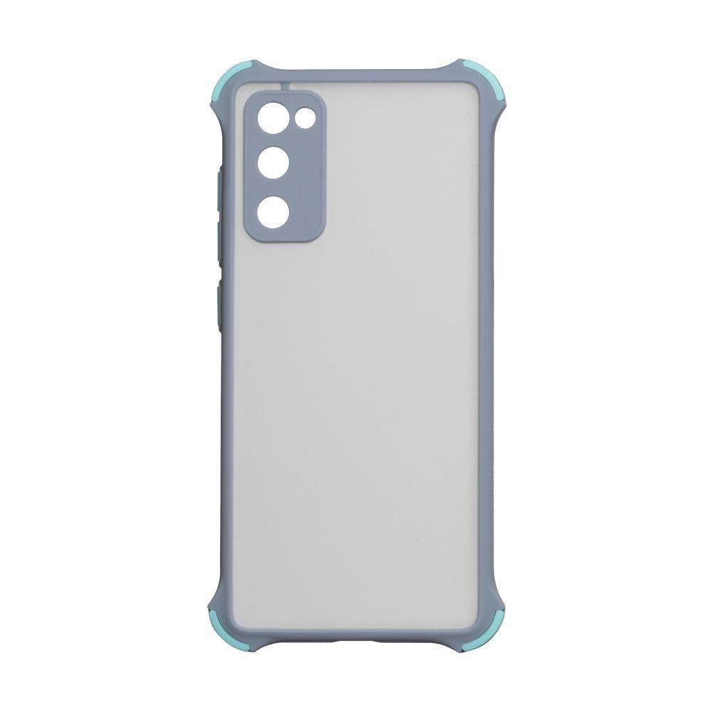 Чохол Totu Armor Frame для Samsung Galaxy S20 FE SM-G780 Сірий