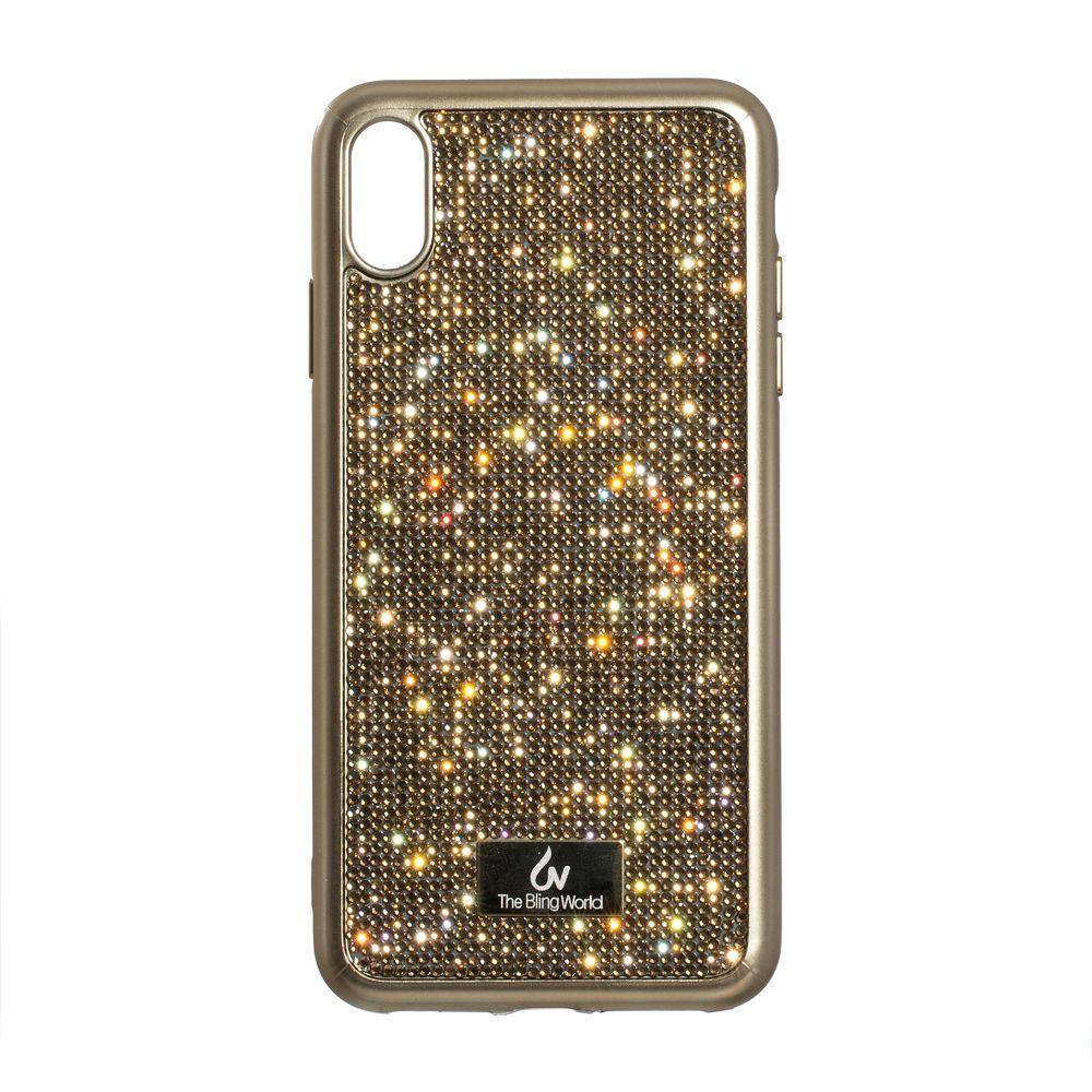 Чехол Kajsa Bling World TPU для Apple iPhone Xs Max Золотой