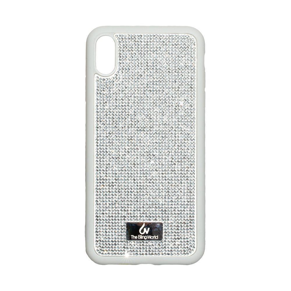 Чохол Kajsa Bling World TPU LCPC для Apple iPhone Xs Max Сріблястий