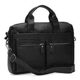 Чоловіча шкіряна сумка Keizer K17122-black