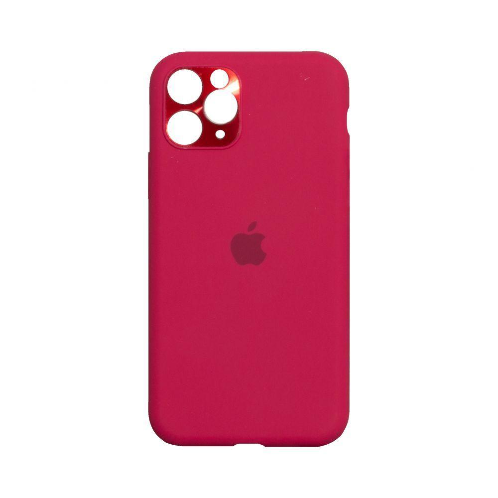 Чохол Totu Camframe Color для Apple Iphone 11 Pro Колір 37, Rose Red