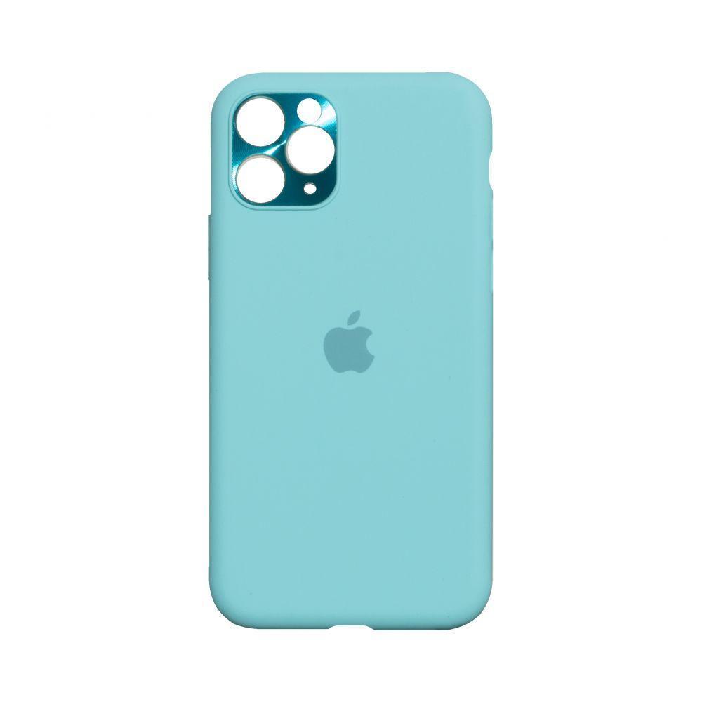 Чохол Totu Camframe Color для Apple Iphone 11 Pro Max Колір 21, Ice Blue