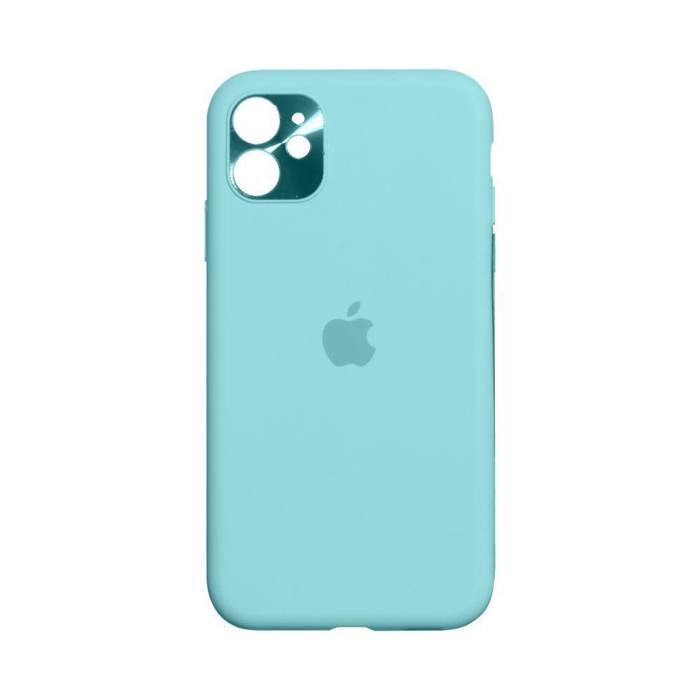 Чехол Totu Camframe Color для Apple Iphone 11 Цвет 21, Ice Blue