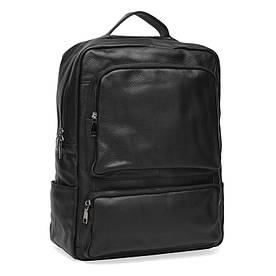 Чоловічий шкіряний рюкзак Keizer K1544-black