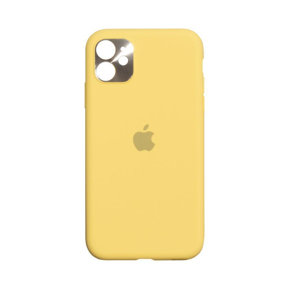 Чехол Totu Camframe Color для Apple Iphone 11 Цвет 4, Yellow
