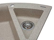 Кухонна мийка гранітна MIRAGGIO EUROPE sand, фото 3