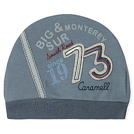 Шапка для новонародженого хлопчика Caramell Caramell (0-3 міс)