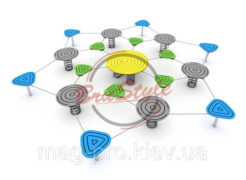 Набір ігрових елементів Острівець BruStyle DIO272hdpl