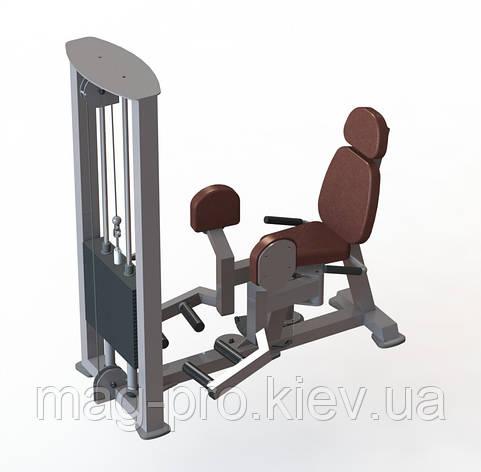 Тренажер для відвідних м'язів стегна (розведення ніг), фото 2