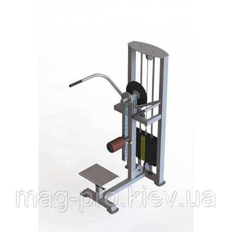 Тренажер для сідничних і призводять-відвідних м'язів стегна комбінований за низькою ціною, фото 2