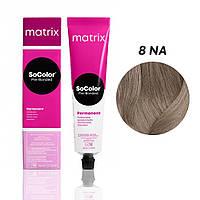 Матрікс Соколор Пре-Бондед, стійка крем-фарба для волосся, відтінок 8NA, 90 мл
