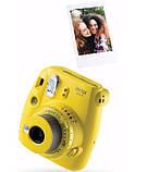 Камера моментальной печати Fujifilm Instax Mini 9 Yellow, фото 7