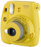 Камера моментальной печати Fujifilm Instax Mini 9 Yellow, фото 2