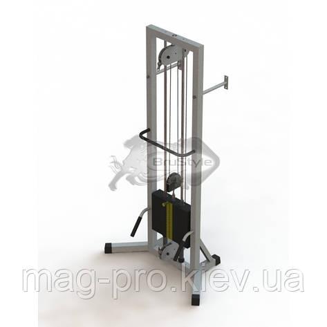 Тренажер для кинезитерапии для дома (МТБ-1) стек 105кг, рама 40х40 мм, фото 2