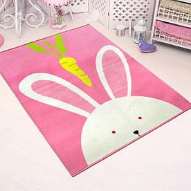 Килимок для дитячої кімнати Кролик 100 х 130 см Berni Home