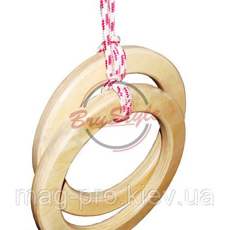 Кільця гімнастичні Brustyle H204, фото 2