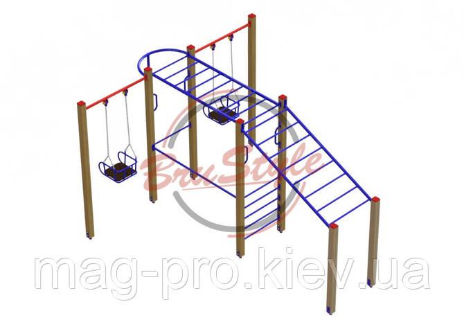 """Гимнастический комплекс для детей """"Рукоходик"""" DIO602.1, фото 2"""