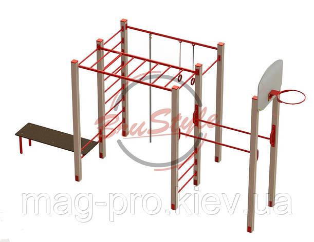 """Гімнастичний комплекс для дітей """"Спортишка"""" DIO604, фото 2"""
