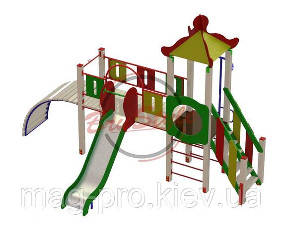 """Дитячий ігровий комплекс """"Місток"""" BruStyle DIO704, фото 2"""