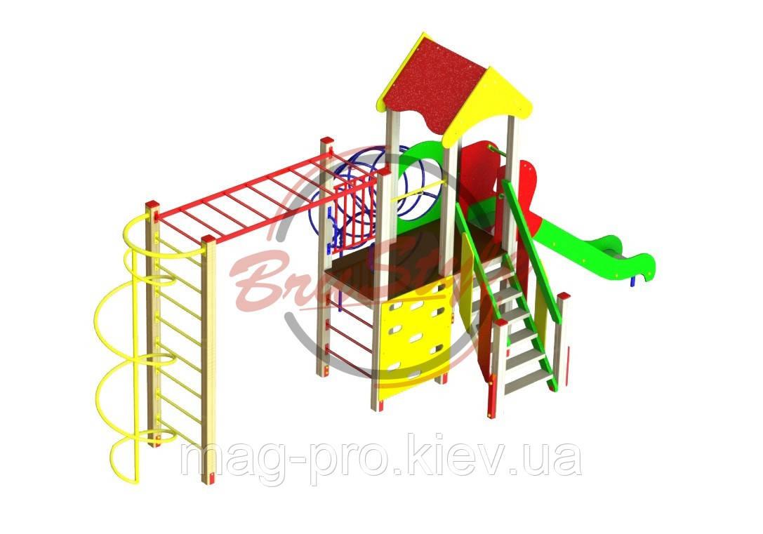 """Дитячий ігровий комплекс """"Задоволення"""" BruStyle DIO713"""