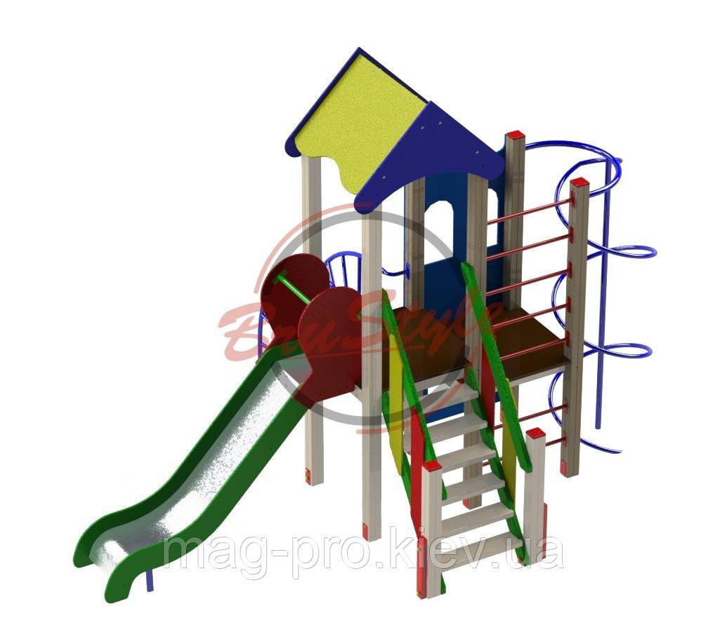 """Дитячий ігровий комплекс """"Вежа друзів"""" BruStyle DIO716"""