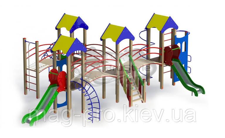 """Детский Игровой комплекс """"Крепость друзей"""" BruStyle DIO718, фото 2"""