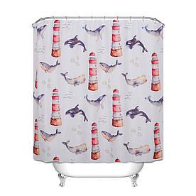 Штора для ванної Маяк 180 х 180 см Berni Home