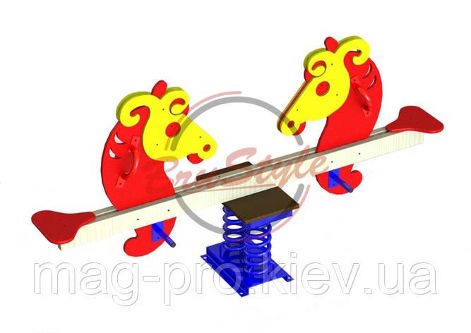 Гойдалка балансир на пружині BruStyle DIO123, фото 2