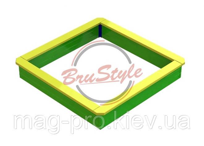 Пісочниця середня дерев'яна BruStyle DIO201.2, фото 2