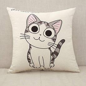 Наволочка декоративная Милый котенок 45 х 45 см Berni Home