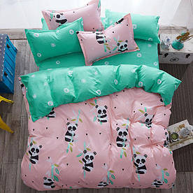 Комплект постельного белья Панда (полуторный) Berni Home