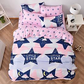 Комплект постільної білизни Маленька зірка (двоспальний євро) Berni Home