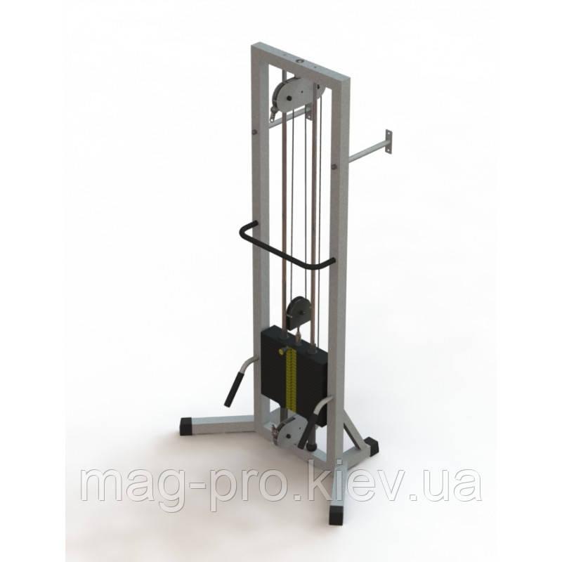 Тренажер для кінезітерапії МТБ-1 стек 80кг, рама 60х60 мм